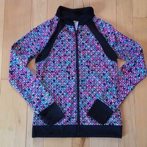 Champion Full Zip Multi-color Girls Track Jacket